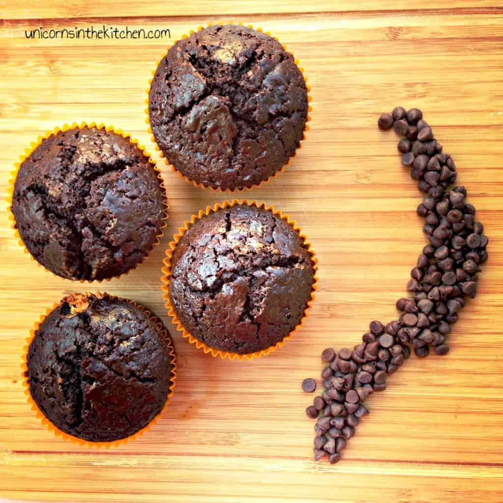 Chocolatechip chocolate muffins-edited