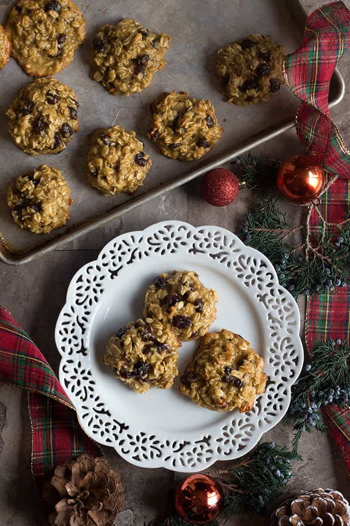 These butterless cookies are so easy and super tasty.
