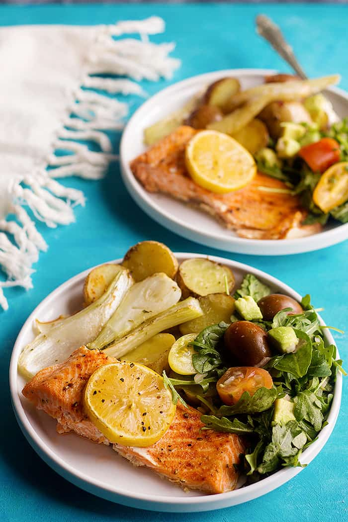 This salmon fillet is perfect for dinner.