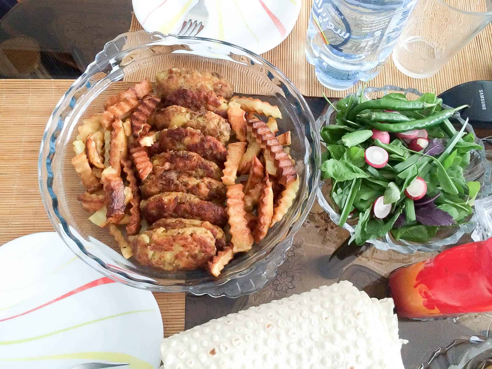 Persian meat patties AKA Kotlet are a dish from Iran, they taste like home!
