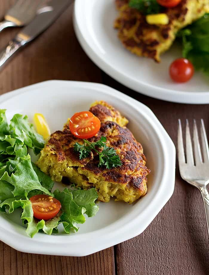 This is my maman's way of making chicken frittata. It requires a few ingredients and can be on the table in less than one hour! Another Persian delight!