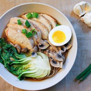 This Easy Homemade Chicken Ramen is too simple to be true!