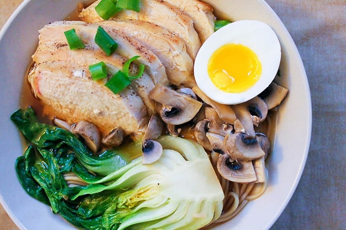 This homemade ramen recipe with chicken is perfect for family and is better than take out.