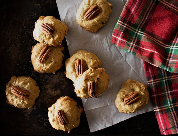 Brown Sugar Pecan Cookies are the ultimate holiday cookies. With sweet coconut flakes and crunchy pecans, these cookies will be everyone's favorite!
