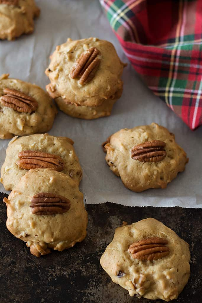 Brown Sugar Pecan Cookies are great for the holidays.