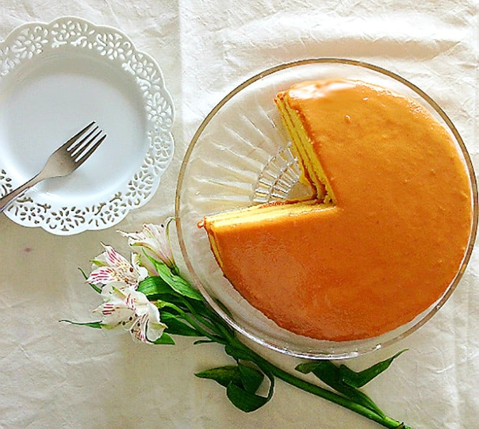 This is the best Caramel Cake Ever!!