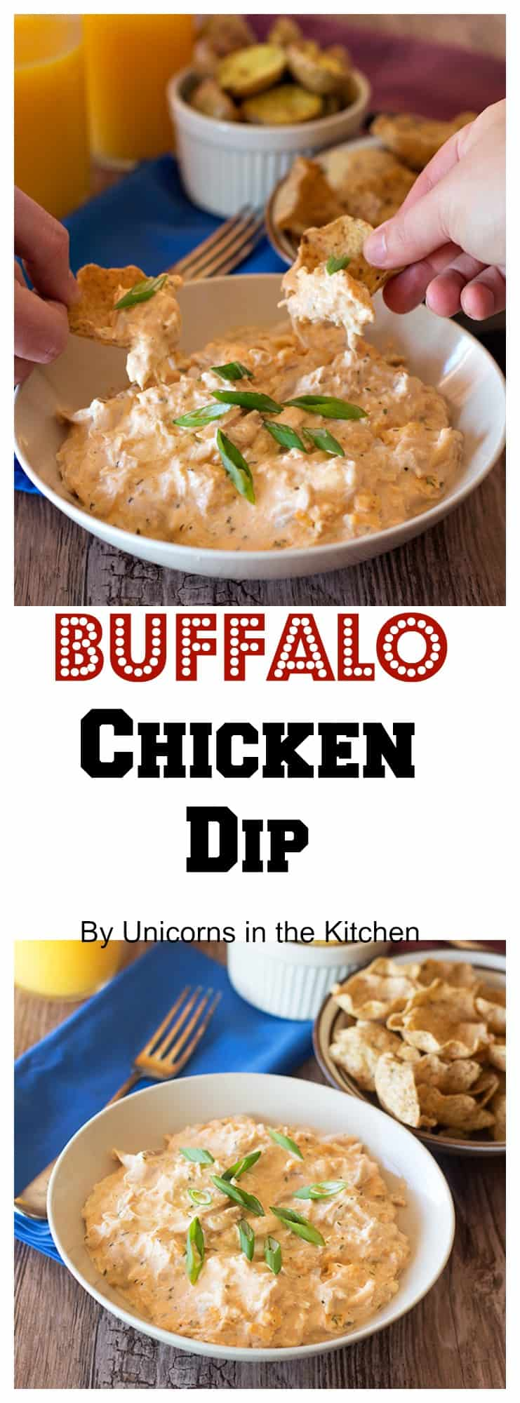 Perfect for the big game, this Buffalo Chicken Dip is a quick and delicious appetizer that is easy to make! It's everyone's favorite!
