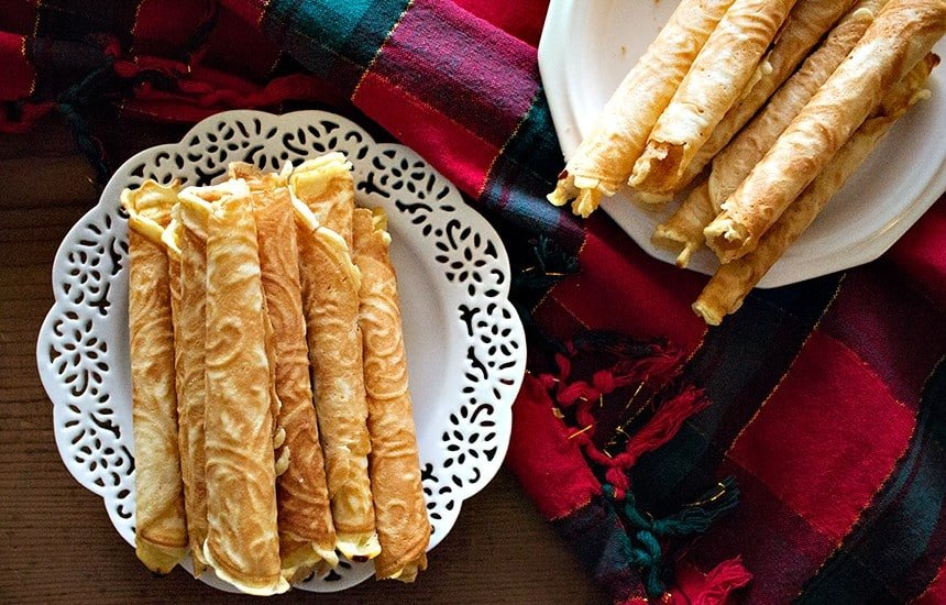 Learn how to make krumkake at home with a few ingredients.