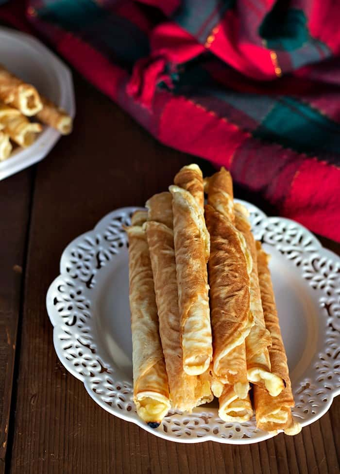 Krumkake is a delicate Norwegian cookie that is loved across generations. It's decadent, delicious and worth every minute spent making it!