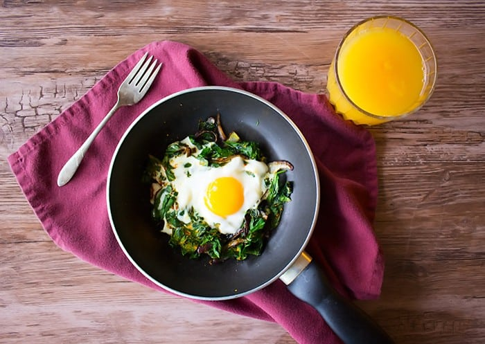 This recipe is perfect for breakfast and it's very simple to make.