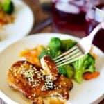 This 30-minute Honey Sesame Chicken is what you need for dinner tonight. Made with ingredients that you already have in your pantry. Easy and no fuss!