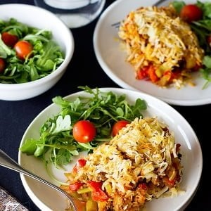 This Hashbrowns Eggplant Casserole is a great choice for dinner. This dish is a combination of Hashbrown, ground beef and roasted eggplant. It's easy and healthy!