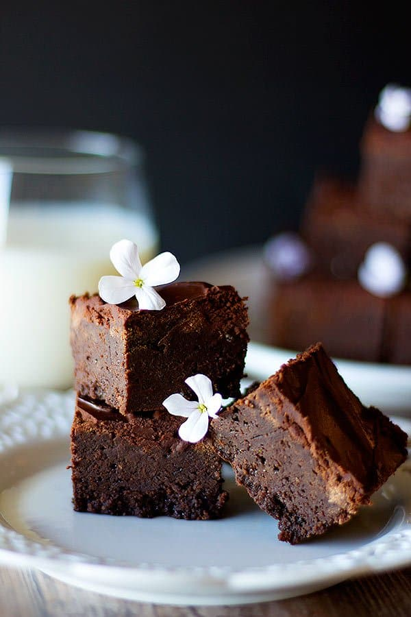 These snicker brownies are everyone's favorite.