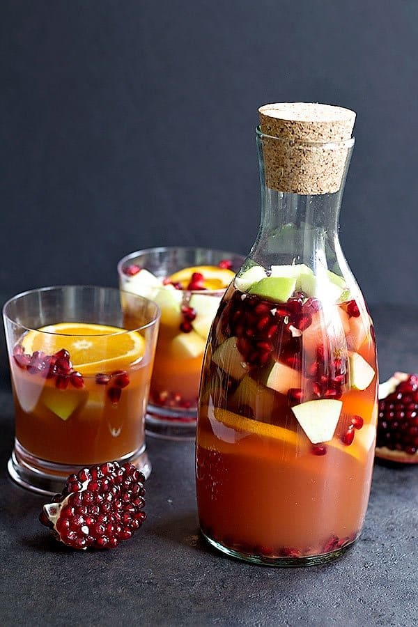 Bring joy and warmth to your cold days with this warm Mulled Cranberry Apple Cider. It takes just a few ingredients and 30 minutes to have this warm drink in your hands!