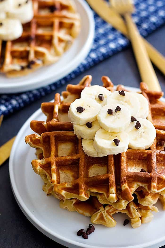 This waffle recipe is perfect for brunch and breakfast.