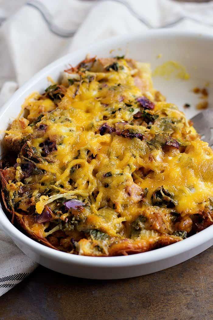 the best vegetable strata recipe unicorns in the kitchen