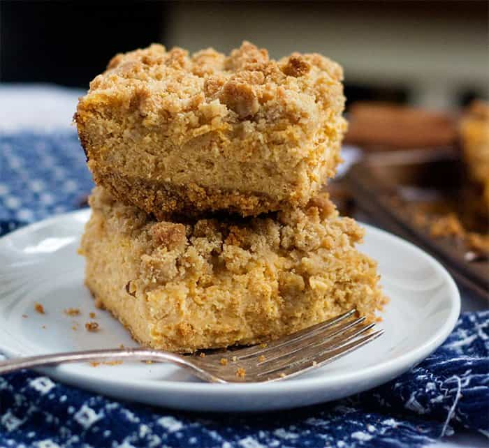 pumpkin cheesecake bars recipe is easy and simple to follow