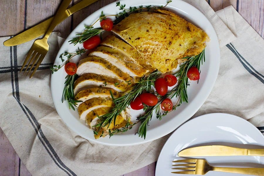 Learn how to cook turkey breast in a slow cooker with minimal preparation.