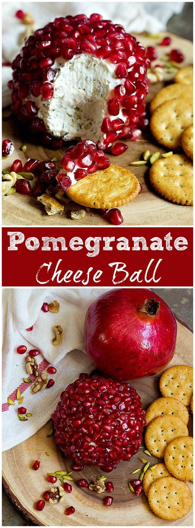 Pomegranate Cheese Ball   Pomegranate Cheese Ball Recipe   Pomegranate Cheese Ball Recipe For   Easy Pomegranate Cheese Ball   #Cheeseball #HolidayCheeseball #HolidayAppetizer