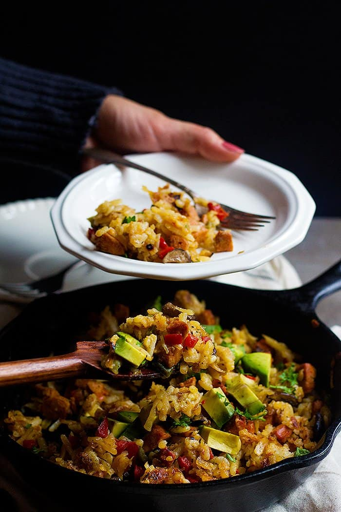 Skillet Hash Browns is great for a weekend brunch.