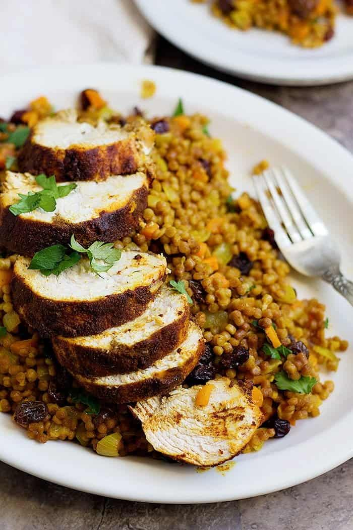 Moroccan Chicken Recipe With Couscous Unicorns In The Kitchen