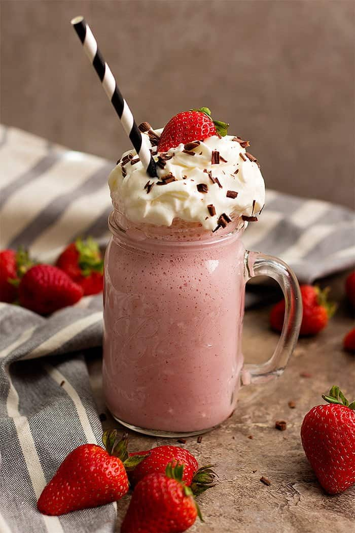 The Best Ever Strawberry Milkshake Unicorns In The Kitchen