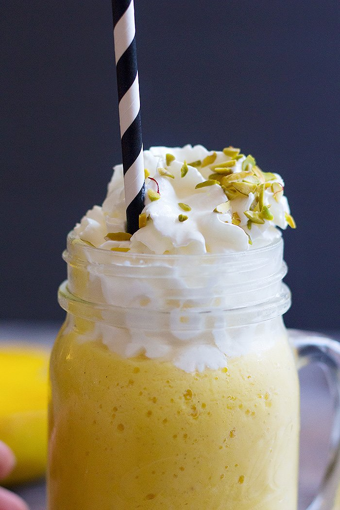 Mango Milkshake is perfectly sweet and perfect for hot days.