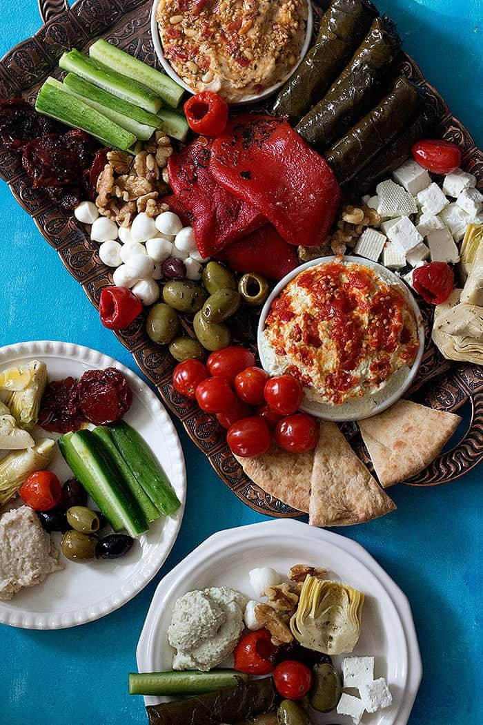 Mediterranean Mezze Platter Unicorns In The Kitchen