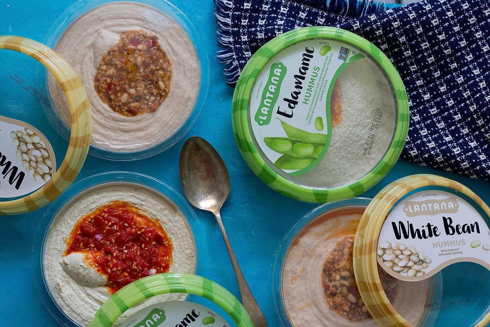 Hummus is a good option as an appetizer.