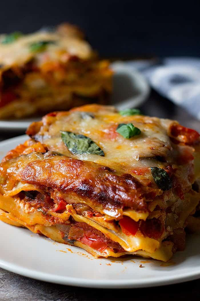 This easy vegetarian lasagna is everyone's favorites.