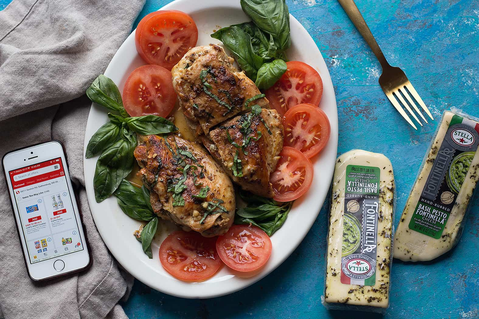 cheese stuffed chicken is perfect for lunch or dinner