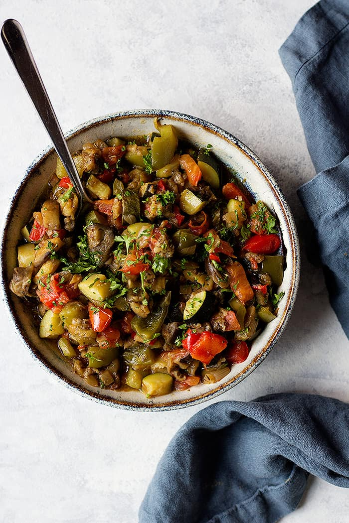 Easy Ratatouille Recipe Vegan And Gluten Free Unicorns In The Kitchen