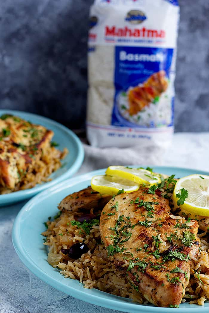 This one-pan chicken and rice is packed with delicious flavors. Read on and you'll see why this Greek chicken and rice recipe is perfect for a weeknight dinner.