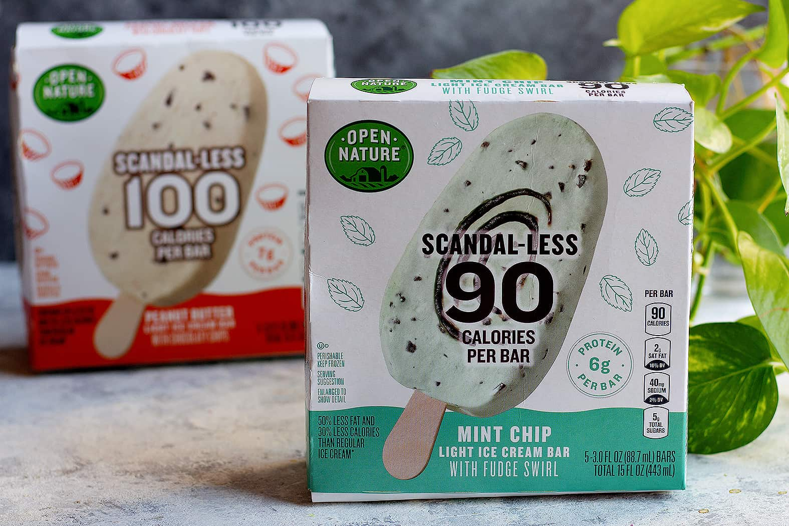 scandal-less ice cream bars