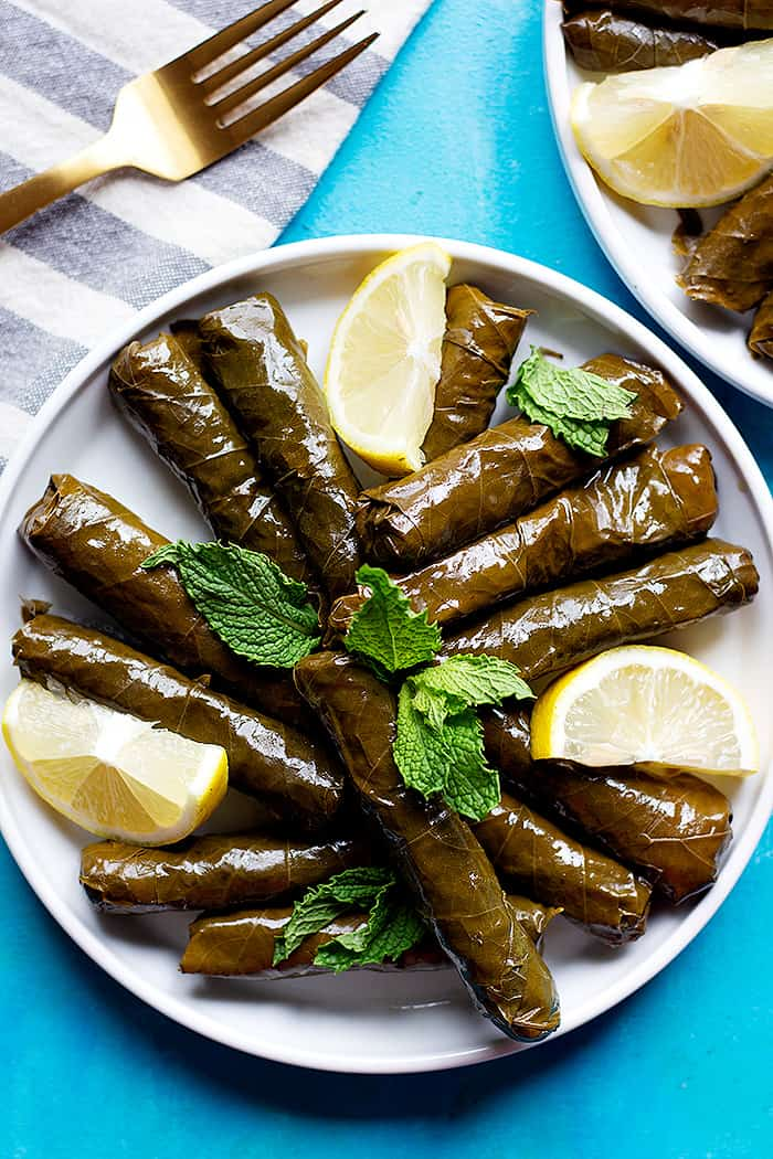 Authentic Dolma Recipe Stuffed Grape Leaves Unicorns In The Kitchen