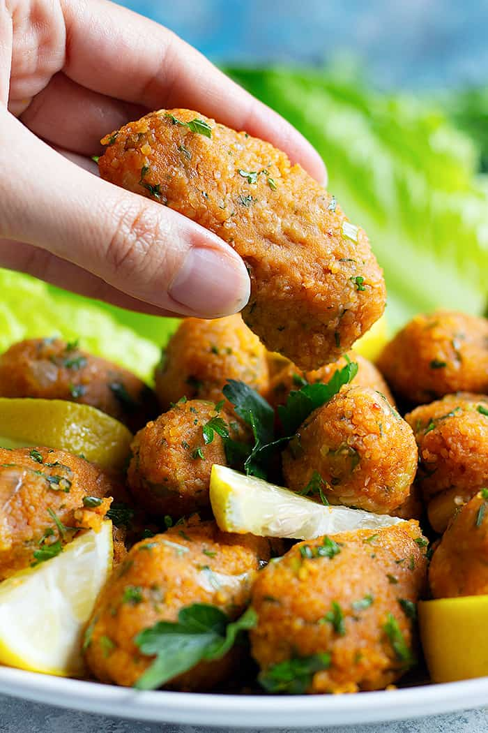 Also known as mercimek koftesi, these are perfect for lunch or dinner.