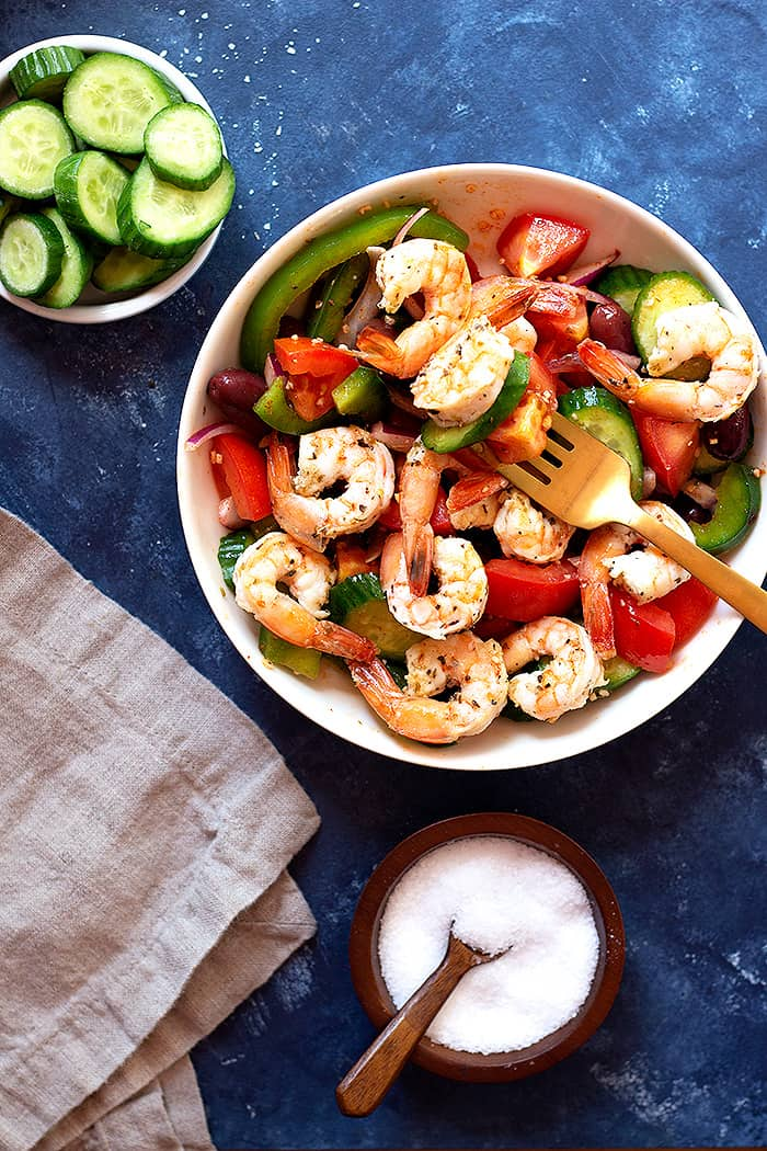Shrimp Salad Recipe No Mayo