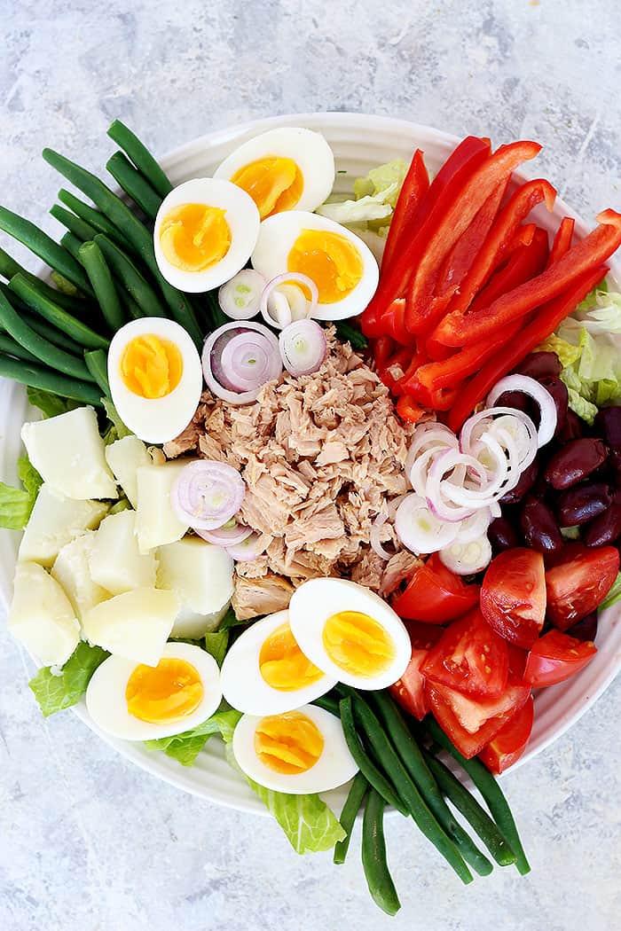 Nicoise salad is a French tuna salad.