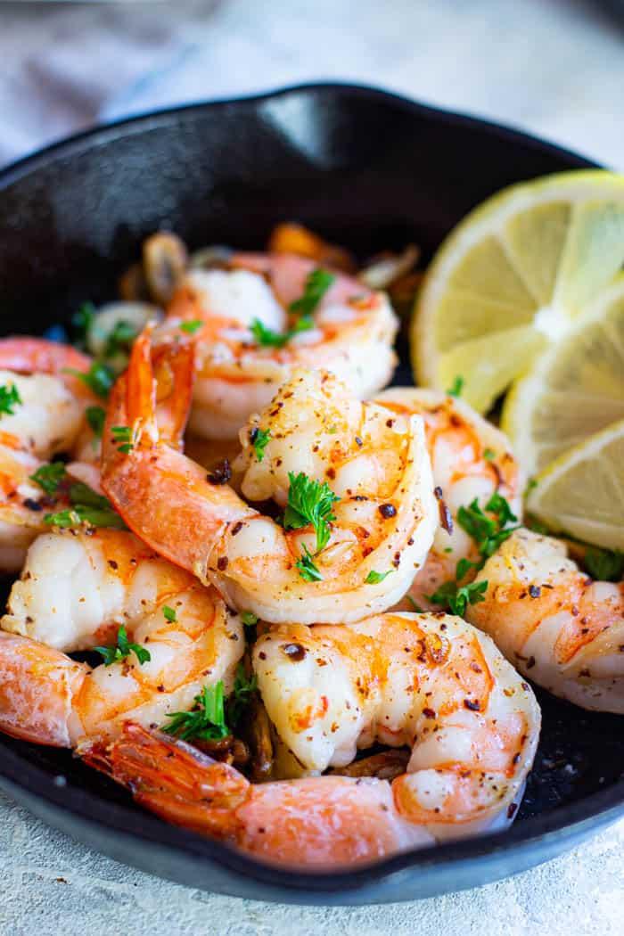 Gambas al ajillo also known as Spanish garlic shrimp is a classic Spanish tapas recipe.