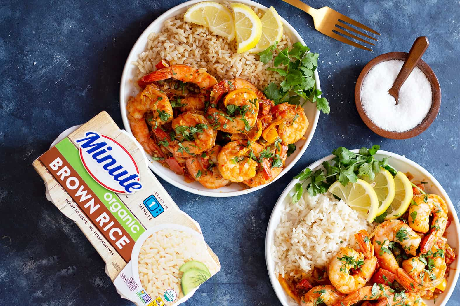 A healthy shrimp recipe that's quick and easy to make.