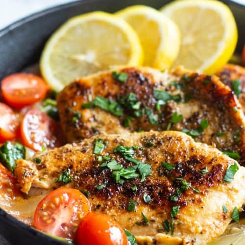 Italian Skillet Chicken Recipe Unicorns In The Kitchen
