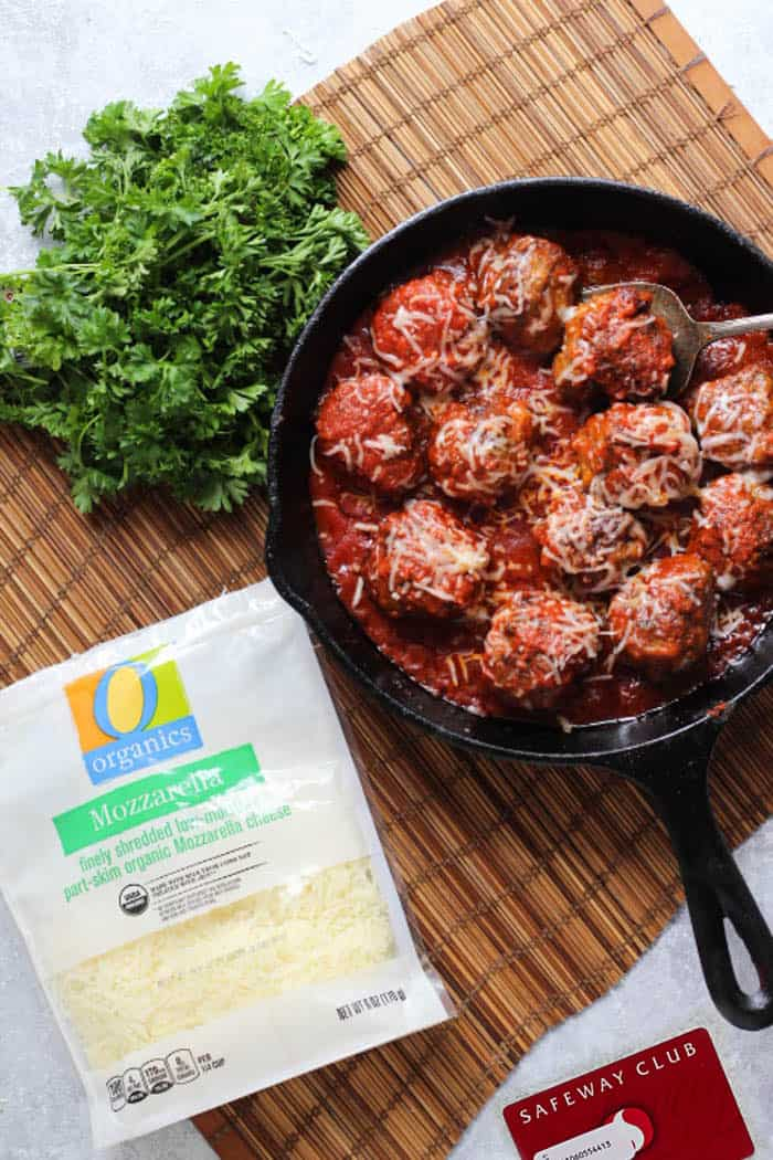 Italian meatballs are perfect for an easy dinner.