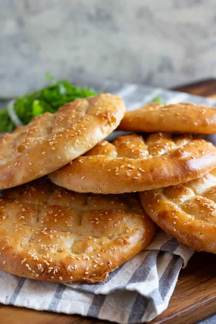 This is a classic Turkish bread that you can make at home.