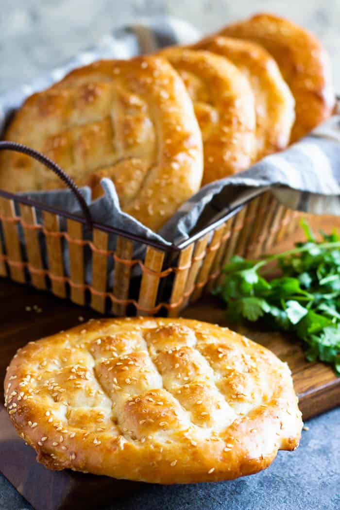 Turkish pide bread is simple, easy and no knead.