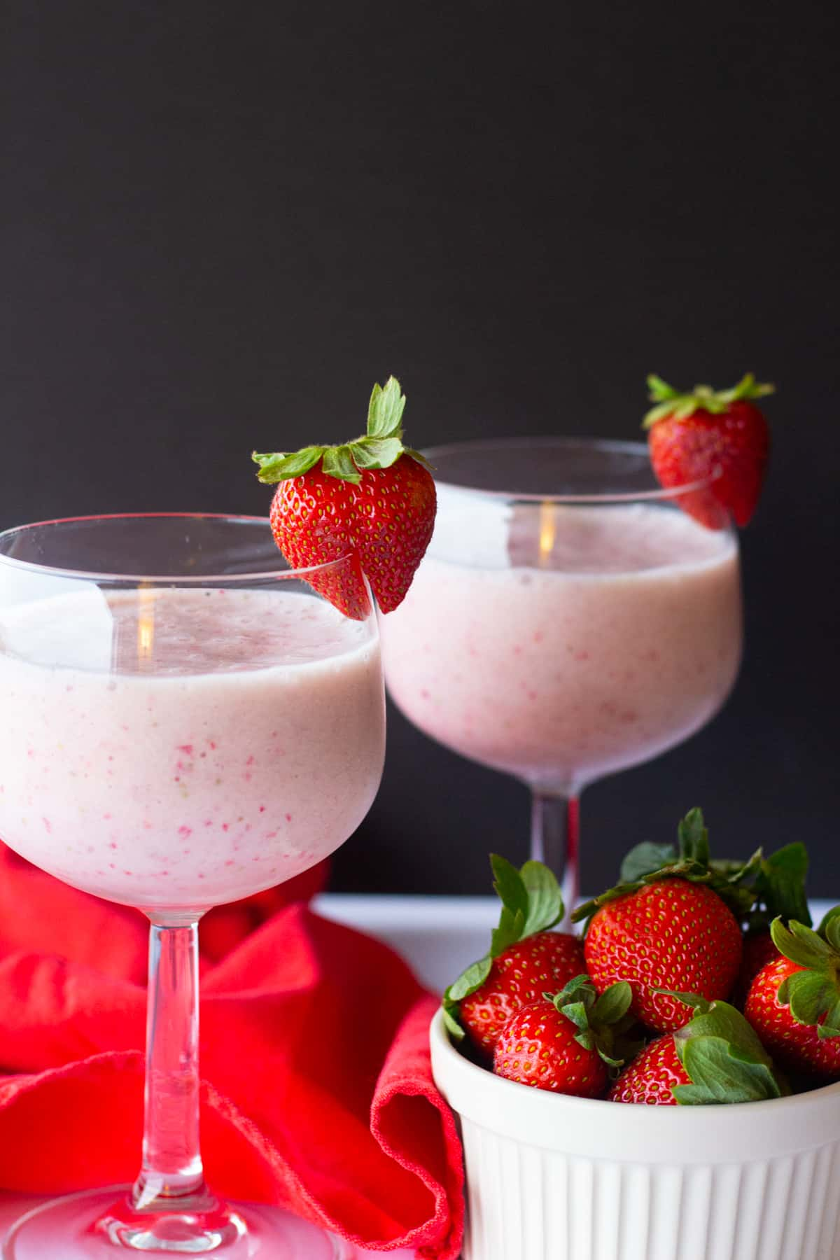 This healthy milkshake is very simple and easy. Bananas are used instead of ice cream.