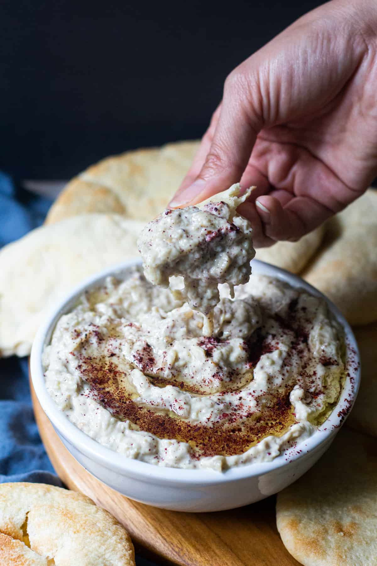 You can serve this dish with pita bread.