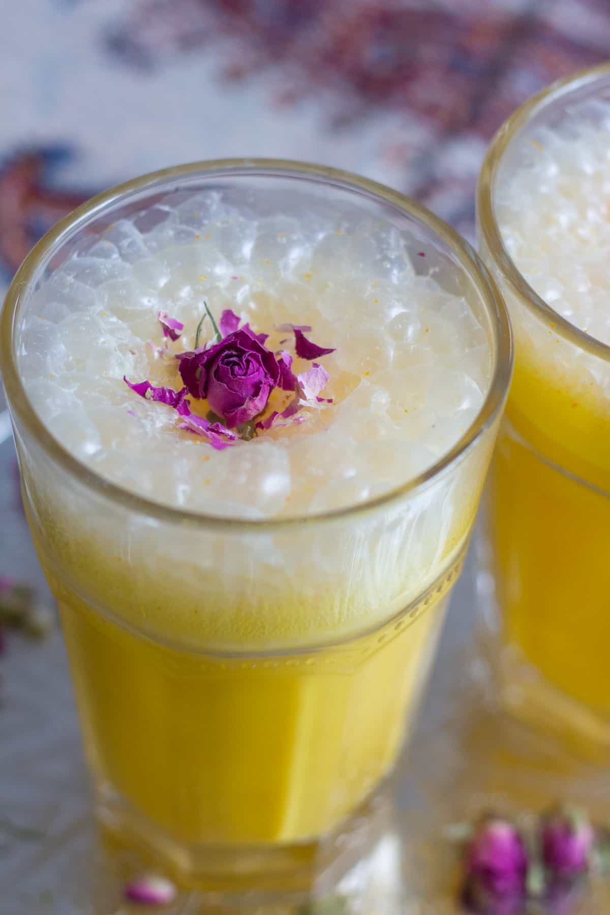 Saffron milkshake in 5 minutes! This is like nothing you've had before! It's so flavorful and easy to make. With flavors of saffron and cardamom, this milkshake is everyone's favorite. You can make it with non dairy ice cream and milk as well!