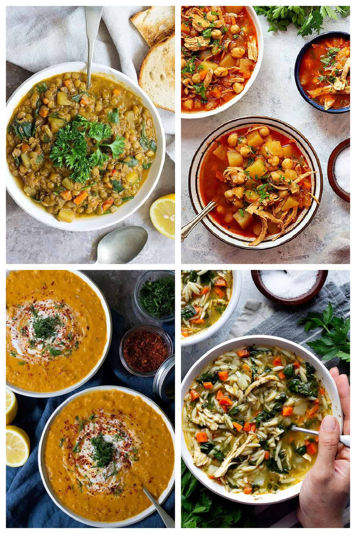 A collection of our top soup recipes.