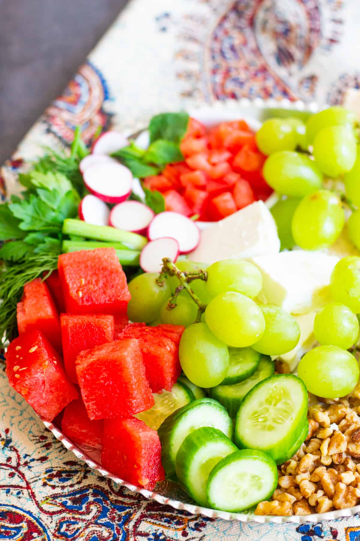 Watermelon is a great addition to the platter.